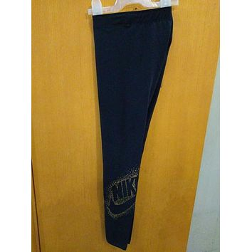 DCKKID4 Nike Leggings With Metallic Logo