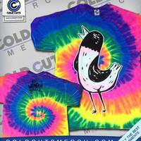 "The Wonder Years ""Big Bird"" Tie Dye Shirt 