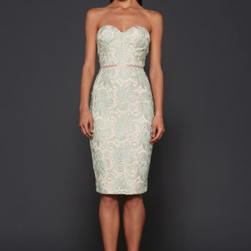 Elle Zeitoune Morgan lace dress