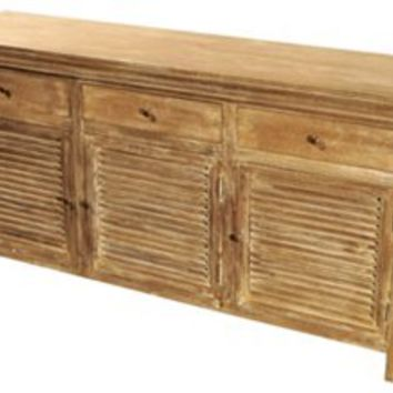 Ada Shutter Cabinet, Natural, Cabinets & Hutches