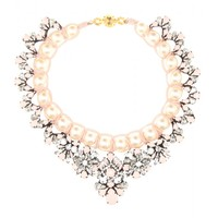 mytheresa.com -  Marisa Virgin embellished necklace - Shourouk - designers - Luxury Fashion for Women / Designer clothing, shoes, bags