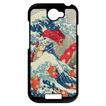 The Great Wave Off Kanto 2 HTC One S Case