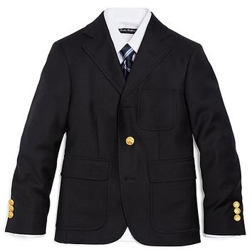 Three-Button Junior Blazer - Brooks Brothers