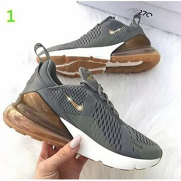 Trendsetter NIKE AIR MAX 270 Women Men Running Sport Casual Shoes Sneakers