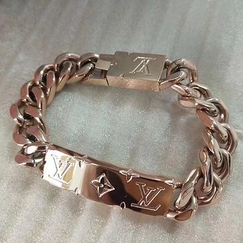 8DESS Louis Vuitton LV Woman Fine Jewelry Chain Bracelet
