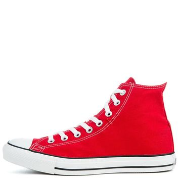 10c3e79bdf4554 Unisex Chuck Taylor All Star Red-White High Top Sneakers