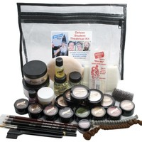 Student Theatrical Makeup Kit - Deluxe - Medium/Olive
