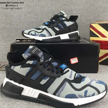 ADIDAS EQT CUSHION ADV Fashion Woven Breathable Casual Shoes F-CSXY