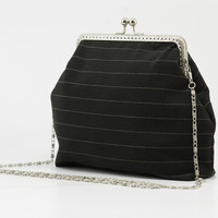 Black Clutch Purse - Evening clutch Purse