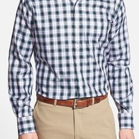 Men's Peter Millar 'Jubilee Melange Plaid' Regular Fit Sport Shirt,