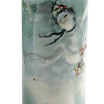 Ballerina Dancer on Stage The Star Ceramic Vase by Degas 9H