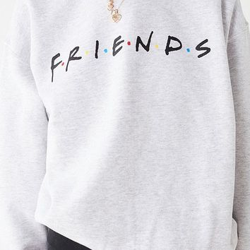 Friends Logo Crew-Neck Sweatshirt | Urban Outfitters