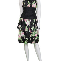 1980s RADLEY Tiered Floral Dress