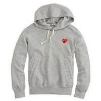 J.Crew Womens Play Comme Des Garcons Pullover Hoodie