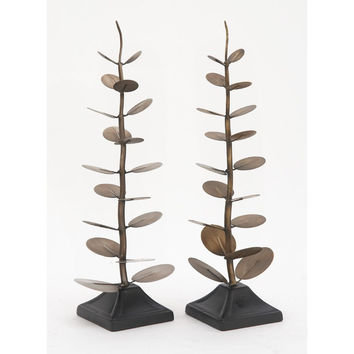 Gorgeous Metal Tree Sculpture Assorted 2