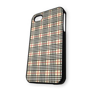 Burberry Pattern (2) iPhone 4/4S Case