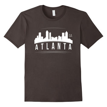 Atlanta Georgia Skyline Silhouette GA City Gift Idea T-Shirt
