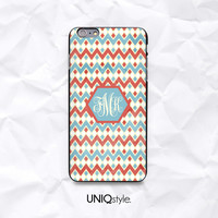 Personalized monogram initials aztec tribal phone case for iPhone 6/4s/5/5s/5c, Samsung Note 4, Sony, LG Nexus, Nokia Lumia, HTC One, Moto E - N51
