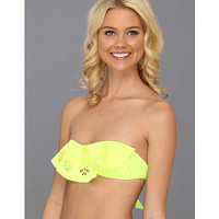 Rip Curl Pyramid Bandeau Top Lime - Zappos.com Free Shipping BOTH Ways
