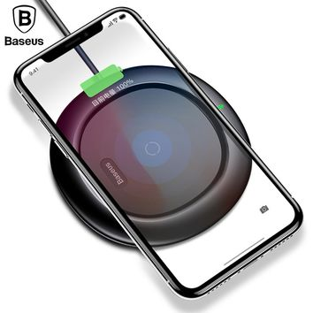 Baseus QI Wireless Charging Charger For iPhone X 8