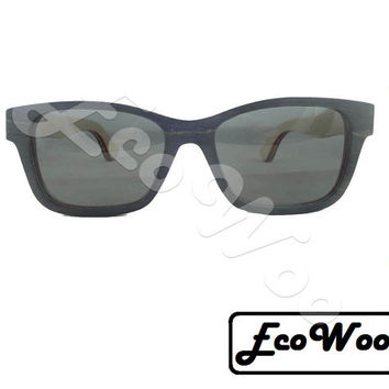Different Colors, Skateboard Style EcoWoo Sunglasses, Polarized, UV400