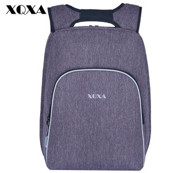 XQXA Anti theft Smart Men's Backpack Bag Brand 15.6Inch Laptop Notebook Mochila for Men/Women Waterproof Bagpack School Bag