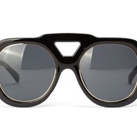 Oversize Abstract Sunglasses