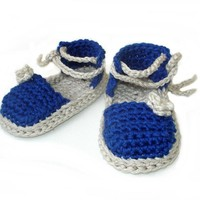 Crochet Pattern Baby Espadrille N.103 by Beatifico - Craftsy