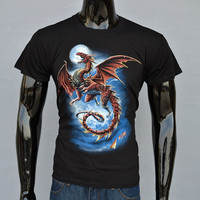 Devil Dragon 3D Print T-Shirt