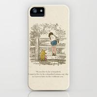 Winnie the Pooh & Friends iPhone & iPod Case by Zeke Tucker