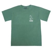 OG HANDS PIGMENT DYED TEE - EMERALD