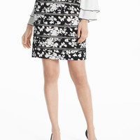 White House | Black Market Lattice Pencil Skirt
