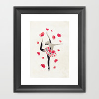 Applause Framed Art Print by VessDSign