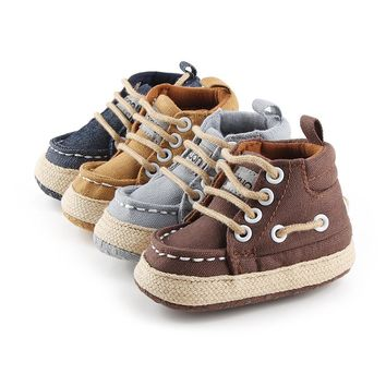 Viruna Baby Boy Canvas Boot