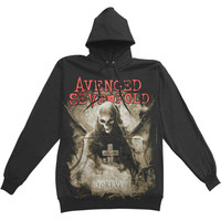 Avenged Sevenfold Men's  Forever Hooded Sweatshirt Black Rockabilia