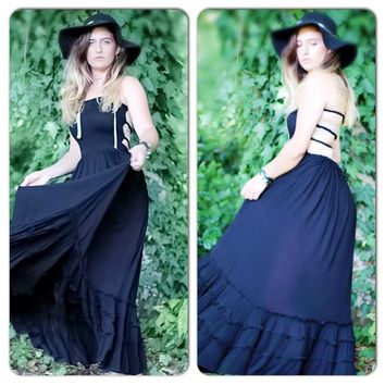 LBD free spirit Maxi Dress, gypsy spell