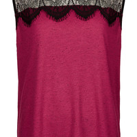 Eyelash Lace Shell Tank - Sale - Sale & Offers - Topshop USA