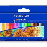 Staedtler Oil Pastels, Beginner's Set of 16 Color-Intensive Colors (241NC16)