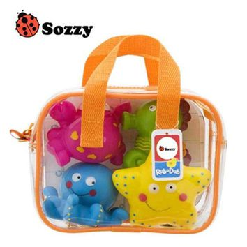 DCCKFS2 USA SOZZY High Quality Children Bathing Swimming Toys Animal Shape and Vehicle Shape Water Spray Toys