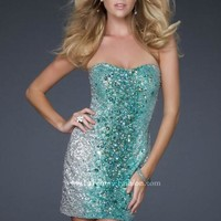La Femme Dress 16285 at Peaches Boutique