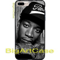 Black And White Wiz Khalifa CASE COVER for iPhone 6/6+7/7+8/8+,X and Samsung