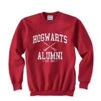 Harry Potter Hogwarts Alumni est 993 Size SMLXLXXLXXXL Sweatshirt Unisex Color Red