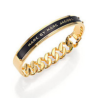 Marc by Marc Jacobs - ID Katie Bangle Bracelet/Black - Saks Fifth Avenue Mobile