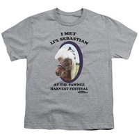 Parks And Rec - Lil Sebastian Short Sleeve Youth 18/1