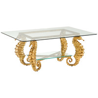 Seahorse Coffee Table | Gold