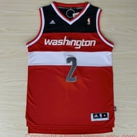 John Wall 2 Washington Wizards NBA Basketball Jersey Swingman John Wall Wizard