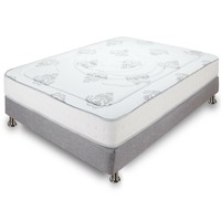 King Size 10.5-inch Thick Cushion Firm Tight Top Memory Foam Innerspring Mattress