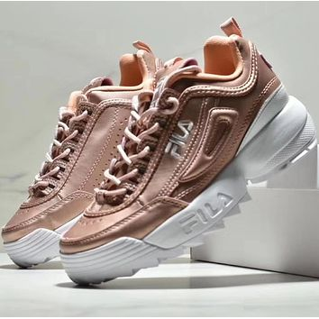 FILA DISRUPTOR 2 Leisure Heightening Sports Shoes