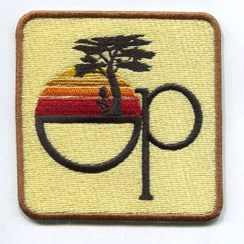 Vintage 80's Style Op Patch Badge for Cap Hat Shirt