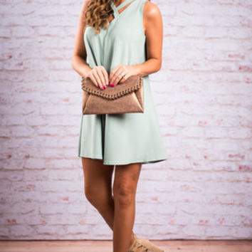 Prove Your Love Dress, Mint